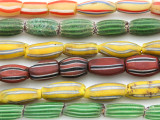 Watermelon Trade Beads - 3 strands (AT975)