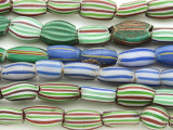 Watermelon Trade Beads - 3 strands (AT984)