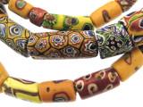 Old Assorted Millefiori Trade Beads (MF224)