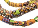 Old Assorted Millefiori Trade Beads (MF225)
