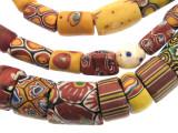 Old Assorted Millefiori Trade Beads (MF229)