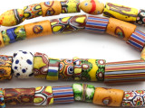 Old Millefiori Trade Beads (MF238)