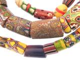 Old Assorted Millefiori Trade Beads (MF241)