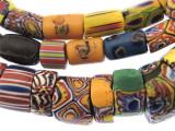 Old Assorted Millefiori Trade Beads (MF242)