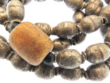 Old Silver Metal Prayer Beads - Ethiopia (RF735)