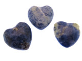 Sodalite Heart Gemstone Pendant 25mm (GSP470)