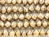 Brass Saucer Metal Beads 10mm - Mali (ME5669)