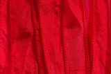 "Red Hand Stitched Silk Ribbon 42"" (SK3000)"