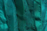 "Teal Hand Stitched Silk Ribbon 42"" (SK3008)"