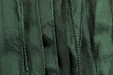 "Pine Green Hand Stitched Silk Ribbon 42"" (SK3009)"