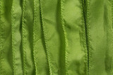 "Lime Green Hand Stitched Silk Ribbon 42"" (SK3021)"
