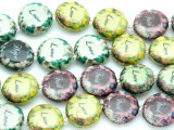 Love Decoupage Beads 16mm (DC41)