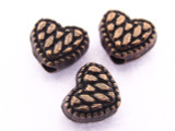 Copper Heart Bead 5mm (CP65)