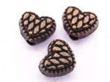 Copper Heart Bead 5mm (CP65)
