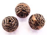 Copper Round Bead 10mm (CP85)