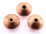 Copper Saucer Bead 7mm (CP87)