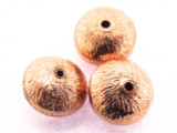 Copper Saucer Bead 7mm (CP102)