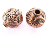 Large Copper Round Bead 21mm (CP105)