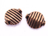 Copper Tabular Connector Bead 14mm (CP106)