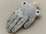 Hand of Fate Ceramic Cork Bottle Pendant 57mm (AP1824)