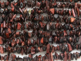 "Red Tiger Eye Chip Gemstone Beads - 36"" strand (GS3642)"