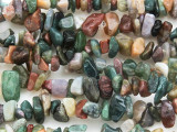 "Fancy Jasper Chip Gemstone Beads - 32"" strand (GS3644)"