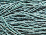 Light Blue Glass Seed Beads 1mm - Ghana (AT7064)
