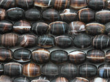 Agate Glass Trade Beads 10mm - Africa (AT7130)