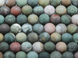 Matte Fancy Jasper Round Gemstone Beads 10mm (GS3663)