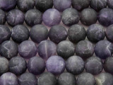 Matte Amethyst Round Gemstone Beads 12mm (GS3672)