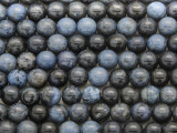 Dumortierite Round Gemstone Beads 8mm (GS3682)