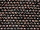 Garnet Faceted Round Gemstone Beads 5mm (GS3685)