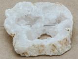 White Druzy Agate Pendant 47mm (GSP910)