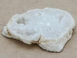 White Druzy Agate Pendant 56mm (GSP932)