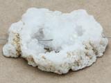 White Druzy Agate Pendant 54mm (GSP939)