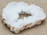 White Druzy Agate Pendant 56mm (GSP948)