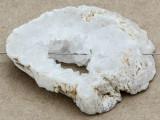 White Druzy Agate Pendant 48mm (GSP979)