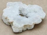 White Druzy Agate Pendant 57mm (GSP992)