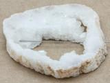 White Druzy Agate Pendant 58mm (GSP995)