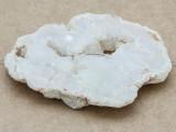 White Druzy Agate Pendant 72mm (GSP997)