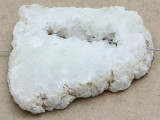 White Druzy Agate Pendant 64mm (GSP1009)