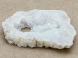 White Druzy Agate Pendant 60mm (GSP1012)