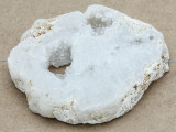White Druzy Agate Pendant 58mm (GSP1013)