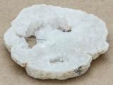 White Druzy Agate Pendant 62mm (GSP1050)