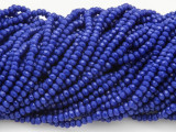 Cobalt Blue Crystal Glass Beads 2mm (CRY187)