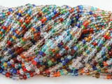 Multi-Color Crystal Glass Beads 2mm (CRY188)