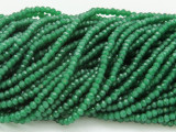 Green Crystal Glass Beads 2mm (CRY197)