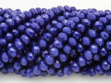 Cobalt Blue Crystal Glass Beads 6mm (CRY219)