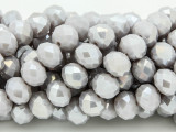 Pale Lavender Purple Crystal Glass Beads 10mm (CRY245)
