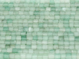 Aventurine Irregular Cube Gemstone Beads 3-4mm (GS3714)